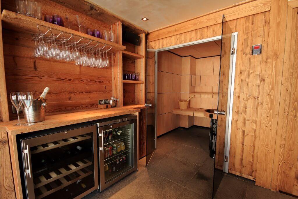 Les Allues Location Chalet Luxe Magnetite Sauna