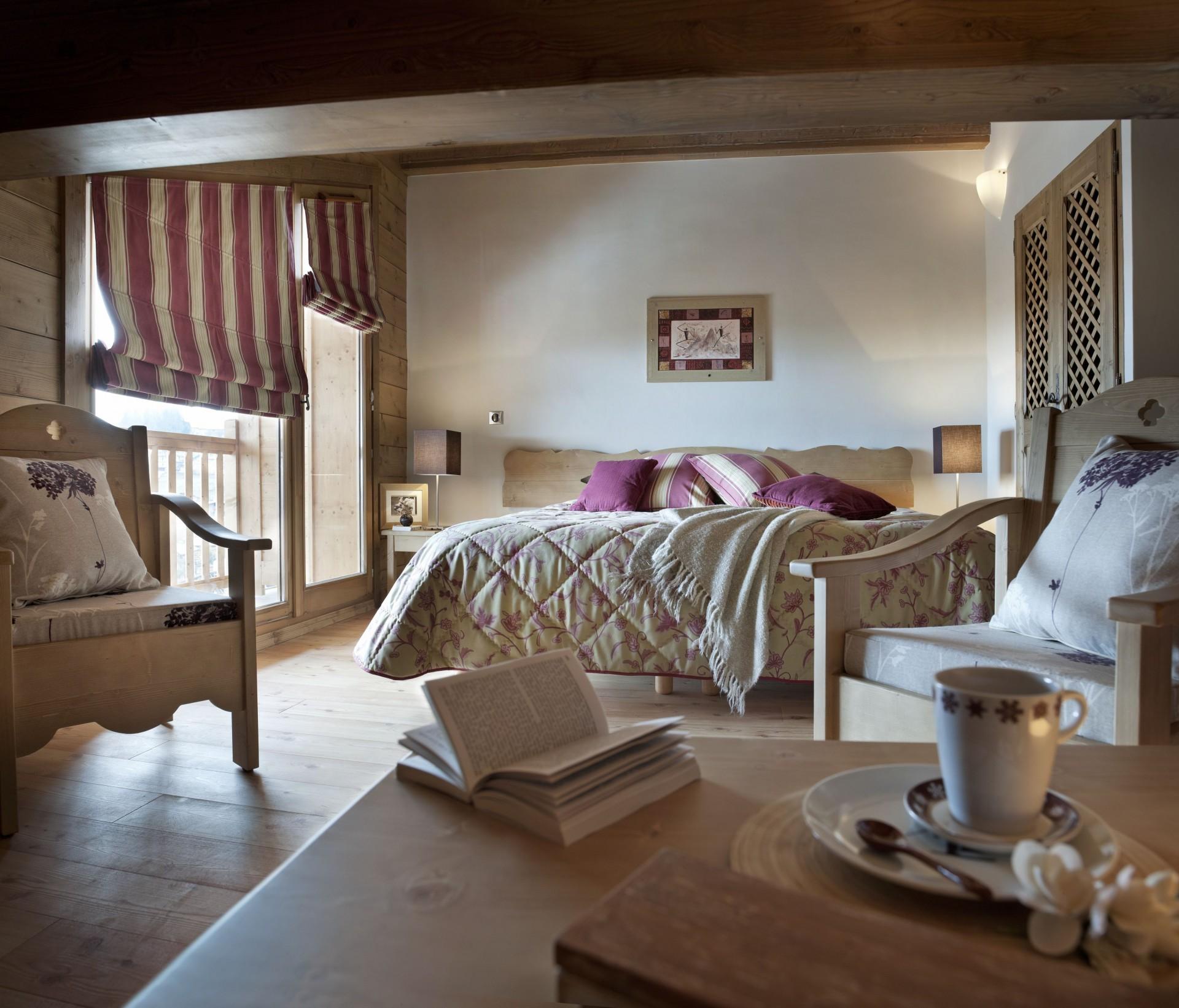 Les Carroz D'Araches Location Appartement Luxe Lilalite Chambre