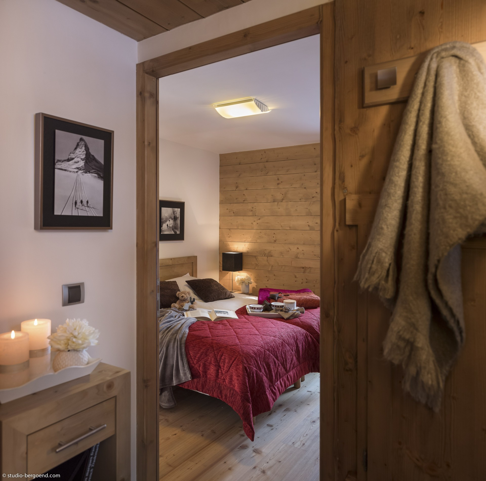Les Carroz d'Arâches Location Appartement Luxe Lilo Duplex Chambre 1