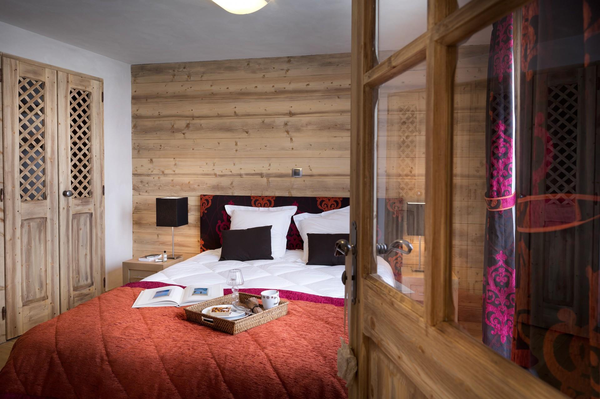 Les Carroz d'Arâches Location Appartement Luxe Lilo Duplex Chambre