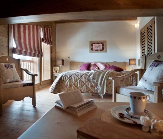 Les Carroz D'Araches Location Appartement Luxe Limonite Chambre