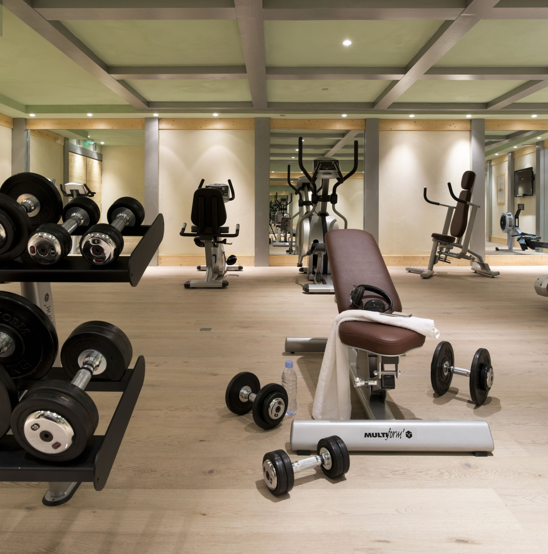 Les Carroz d'Arâches Location Appartement  Luxe Lino Salle Fitness