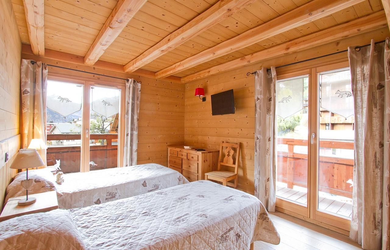 Les Deux Alpes Location Chalet Luxe Cervantate Chambre 1