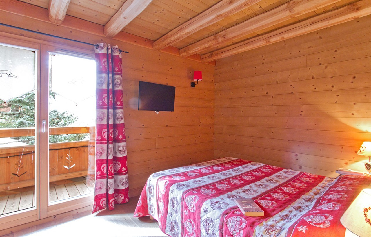 Les Deux Alpes Location Chalet Luxe Cervantate Chambre 3