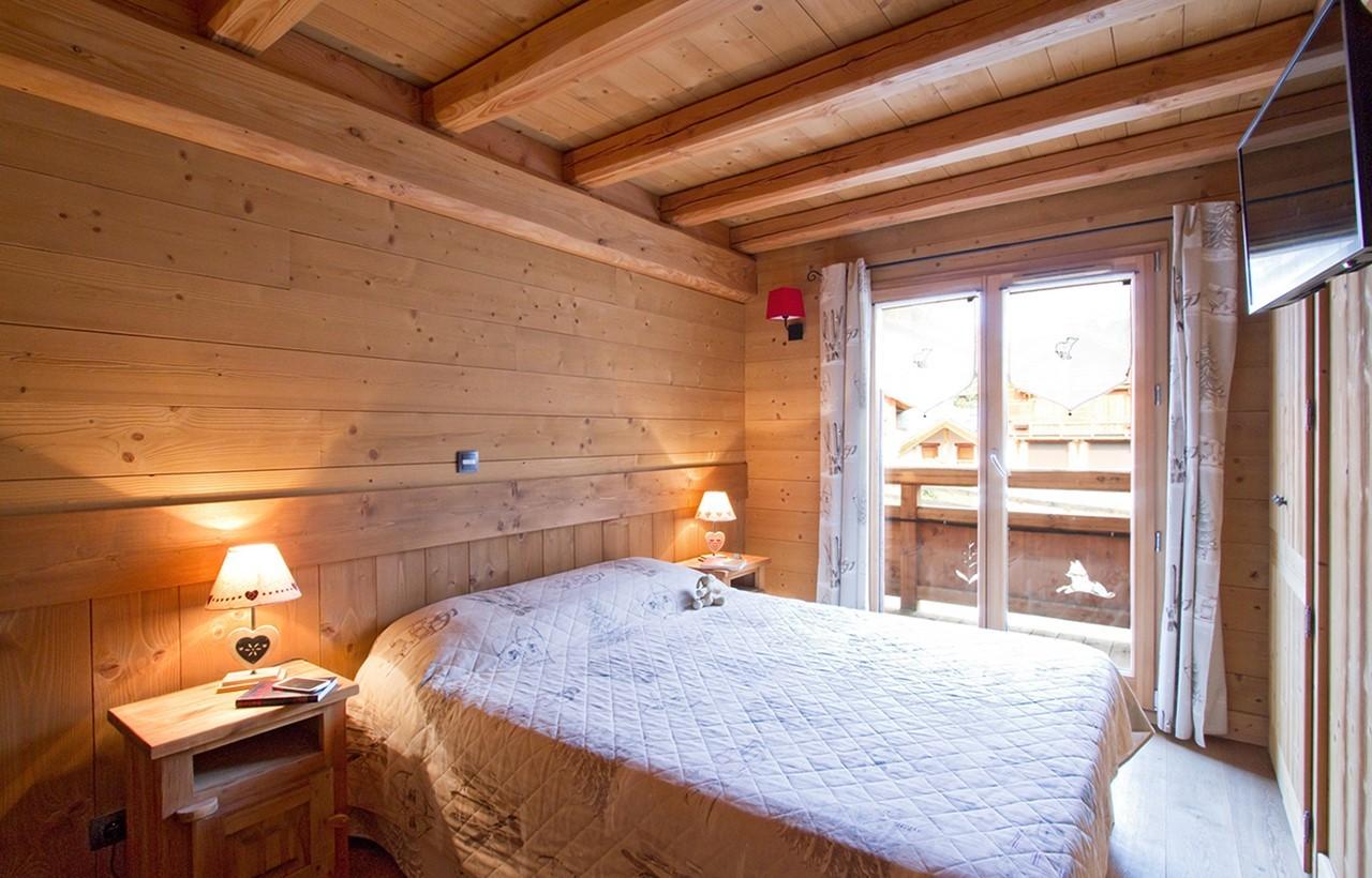Les Deux Alpes Rental Chalet Luxury Cervantote Bedroom