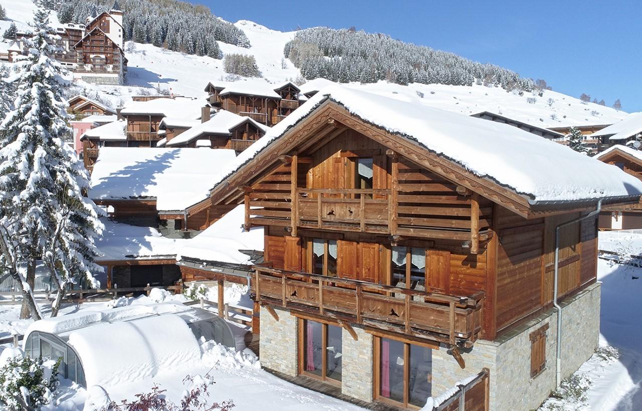 Les Deux Alpes Rental Chalet Luxury Cervantote Outside 1