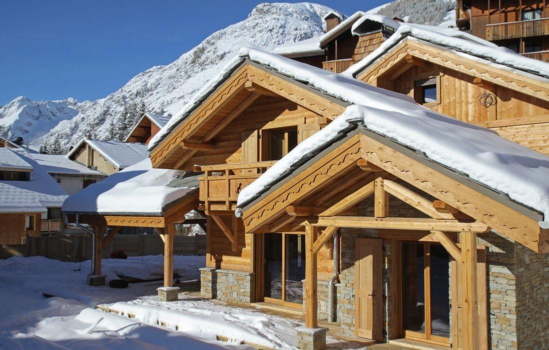 Les Deux Alpes Rental Chalet Luxury Cervantote Outside 2