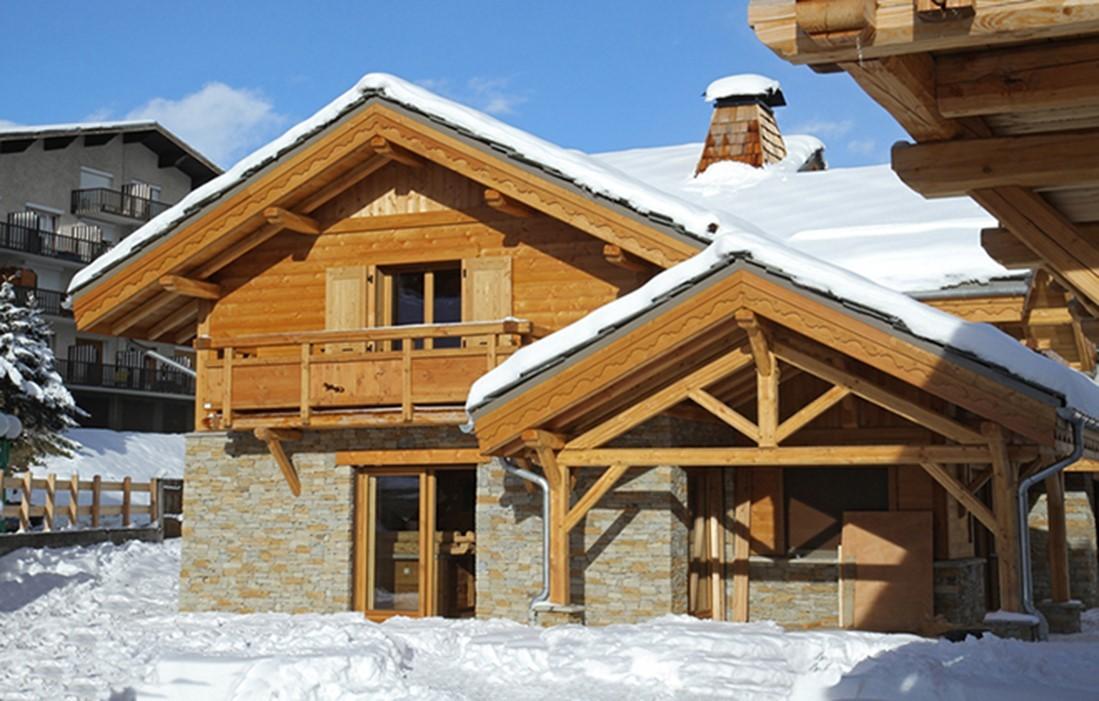 Les Deux Alpes Rental Chalet Luxury Cervantote Outside 3