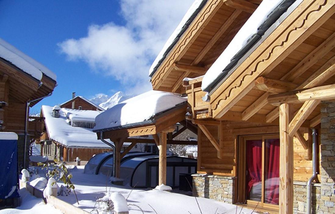 Les Deux Alpes Rental Chalet Luxury Cervantote Swimming Room