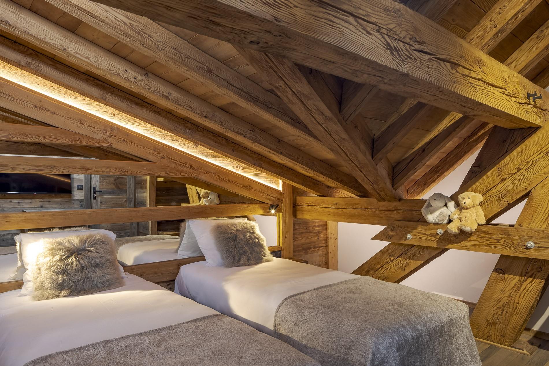 Les Deux Alpes Location Chalet Luxe Cervantute Chambre 5