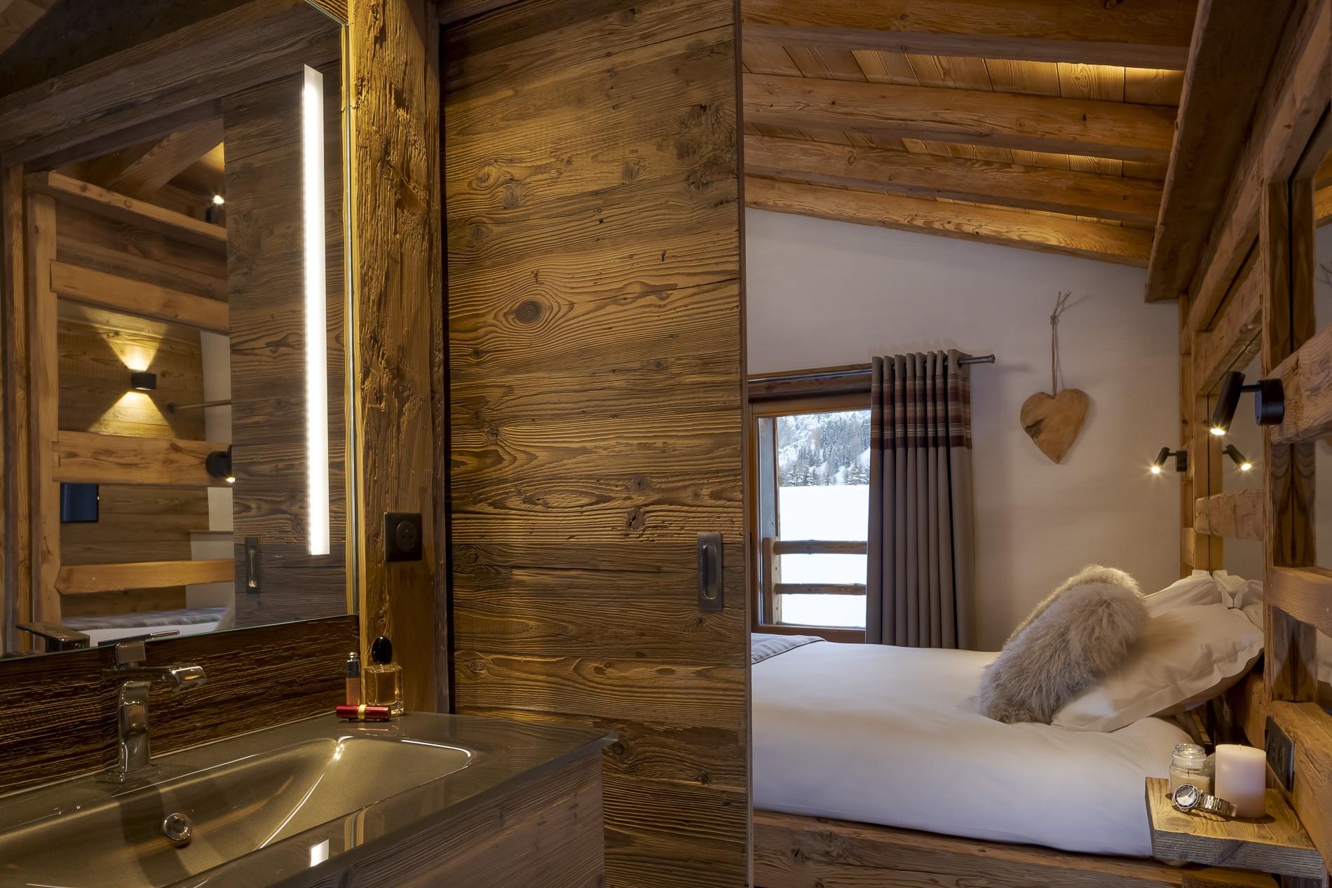 Les Deux Alpes Location Chalet Luxe Cervantute Chambre Ensuite 2