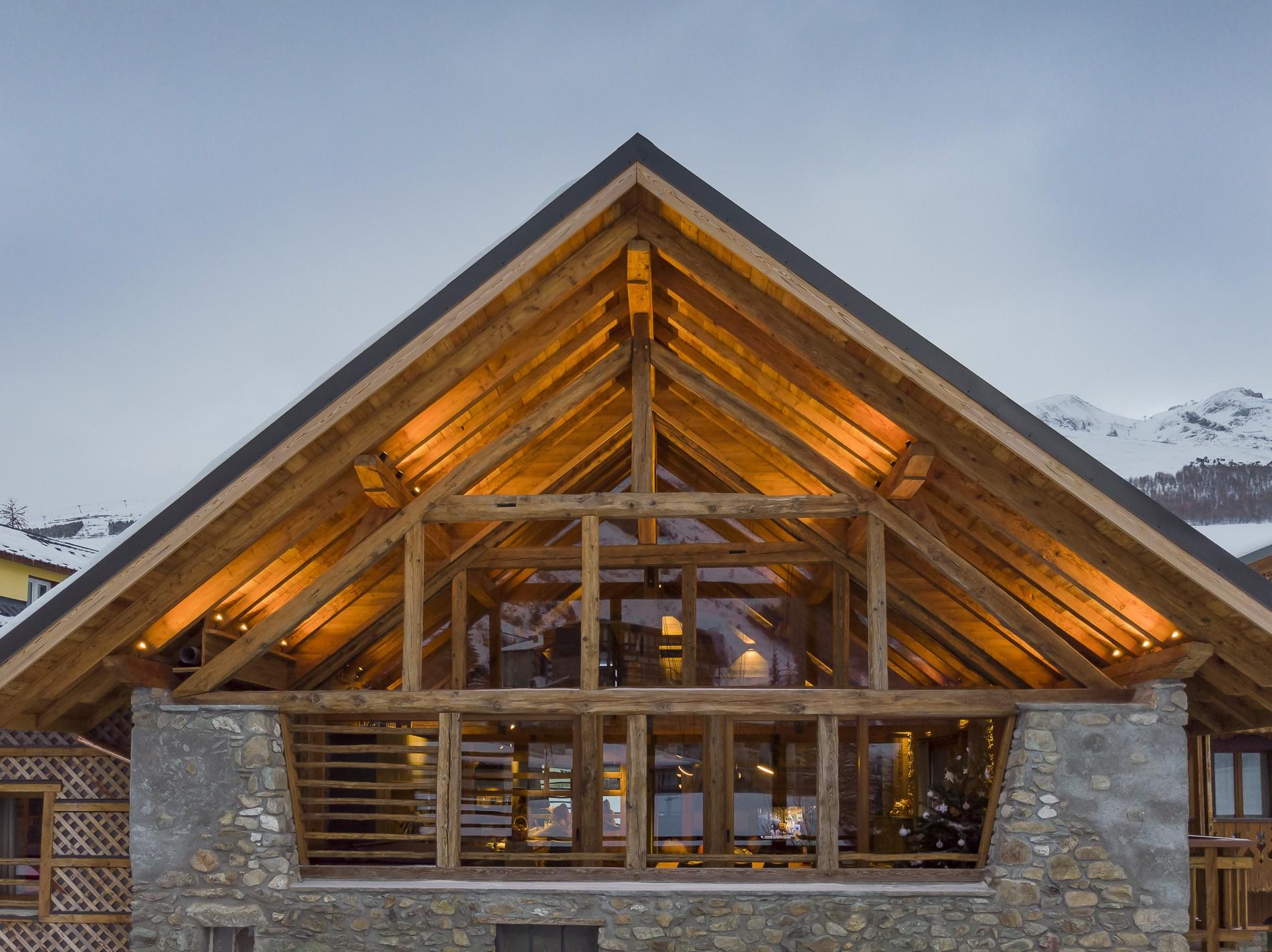 Les Deux Alpes Location Chalet Luxe Cervantute Extérieur 2