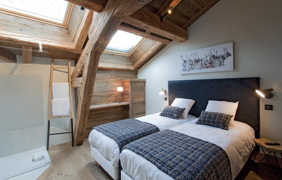 Les Deux Alpes Location Chalet Luxe Wallomia Chambre 2