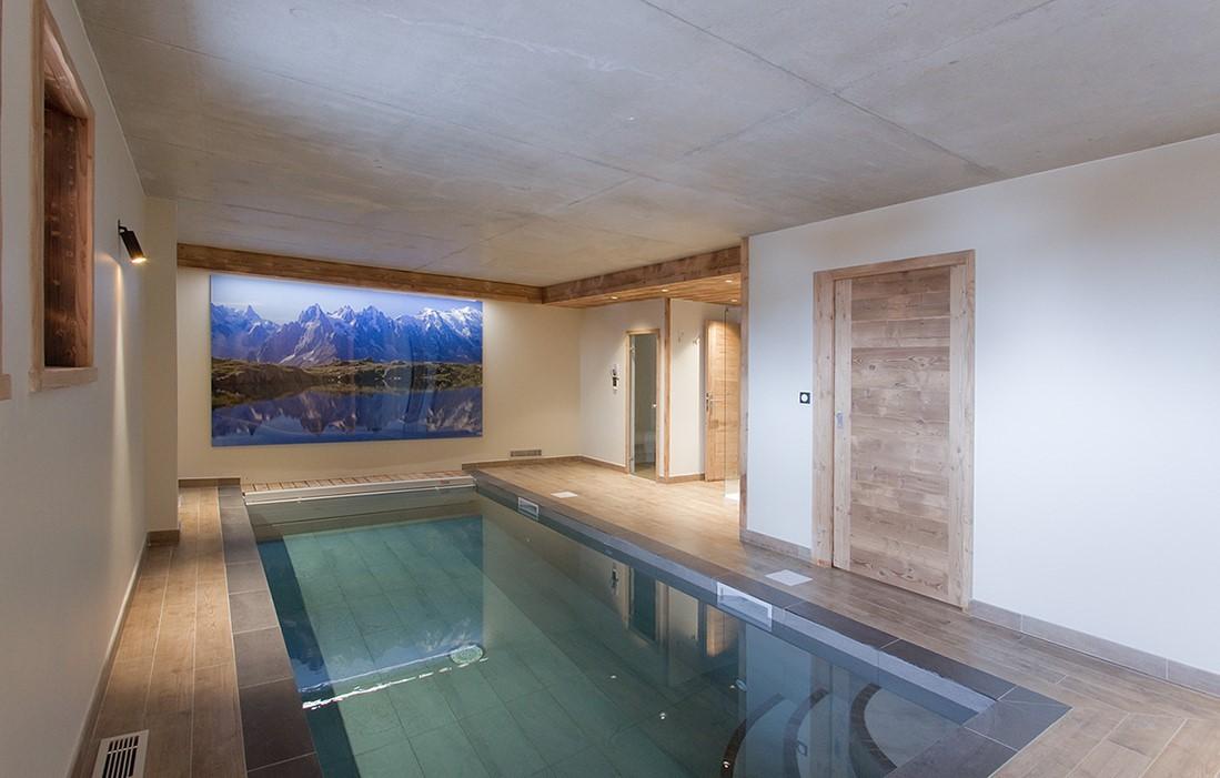 Les Deux Alpes Location Chalet Luxe Wallomia Piscine