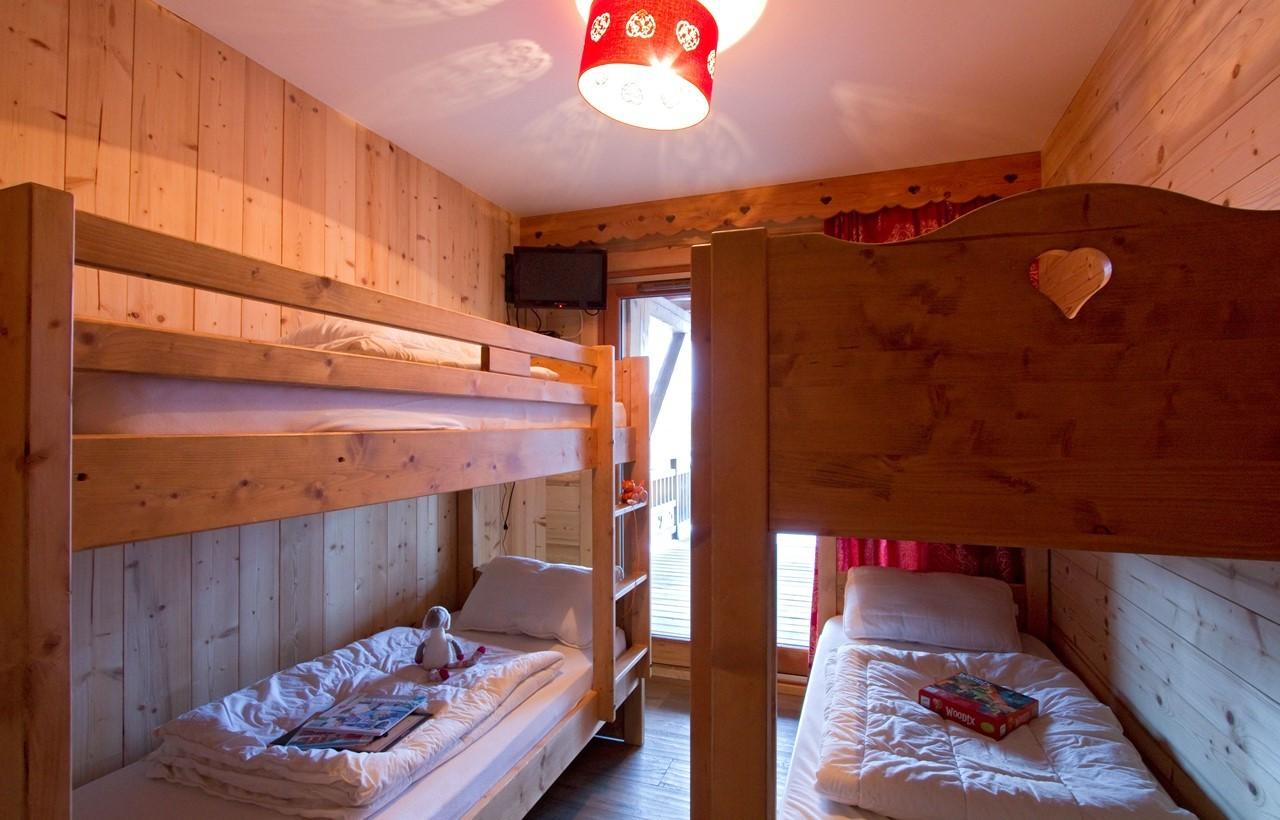 Les Deux Alpes Location Chalet Luxe Wardite Chambre