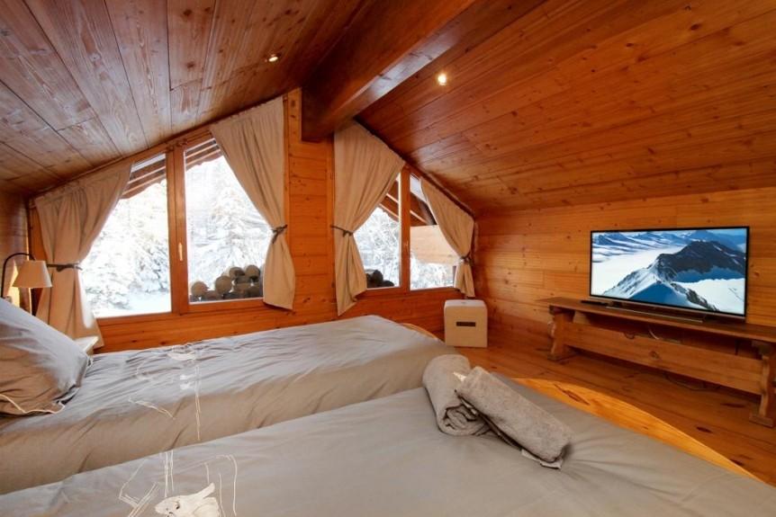 Les Deux Alpes Location Chalet Luxe Wax Opal Chambre 4