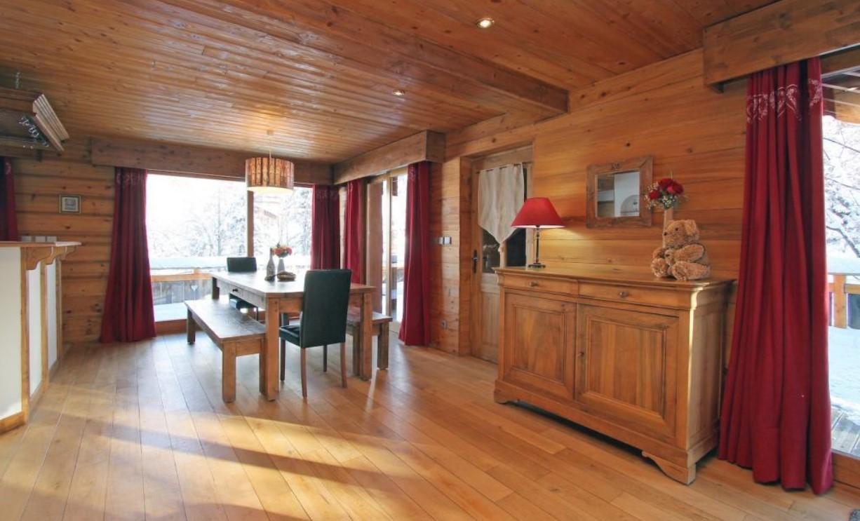 Les Deux Alpes Location Chalet Luxe Wax Opal Salle A Manger