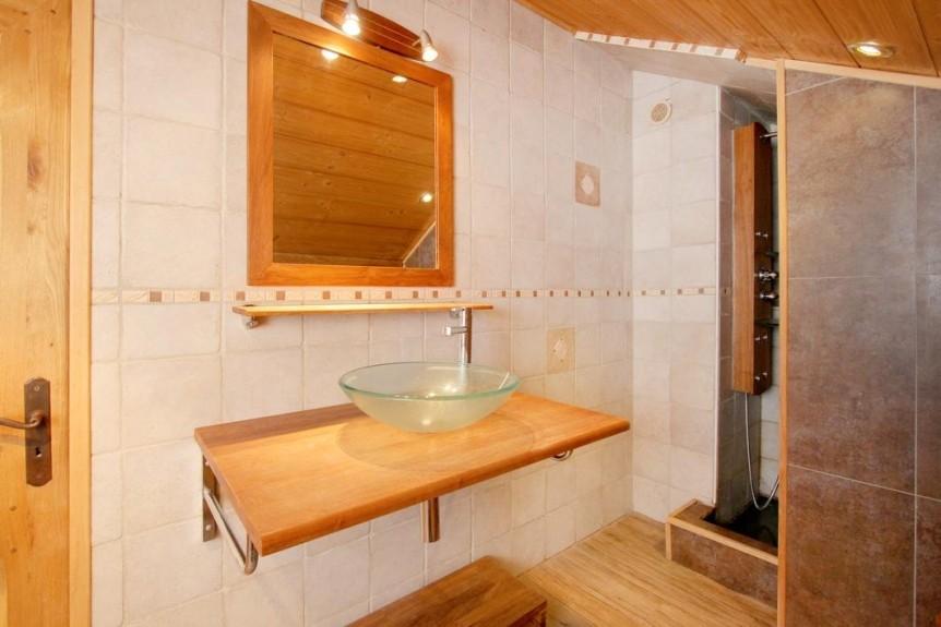 Les Deux Alpes Location Chalet Luxe Wax Opal Salle De Bain 2