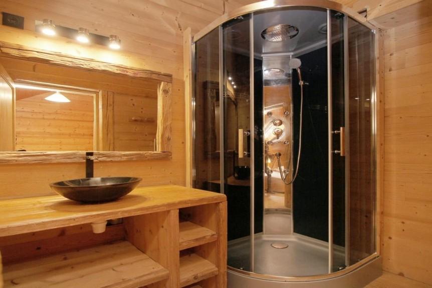 Les Deux Alpes Location Chalet Luxe Wax Opal Salle De Douche