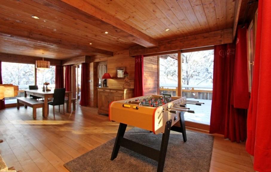 Les Deux Alpes Location Chalet Luxe Wax Opal Séjour