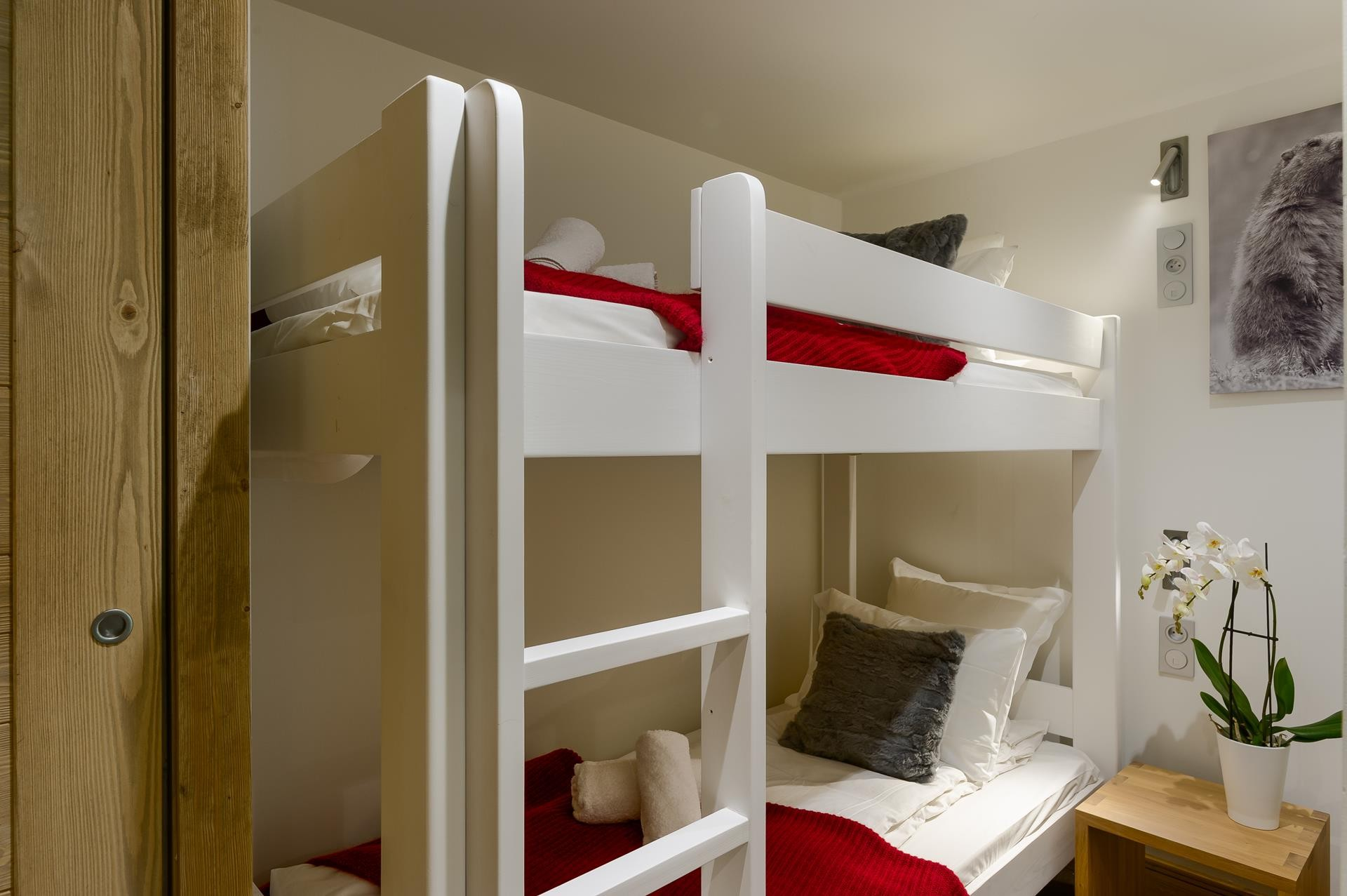 Les Gets Location Appartement Luxe Andime Chambre 4