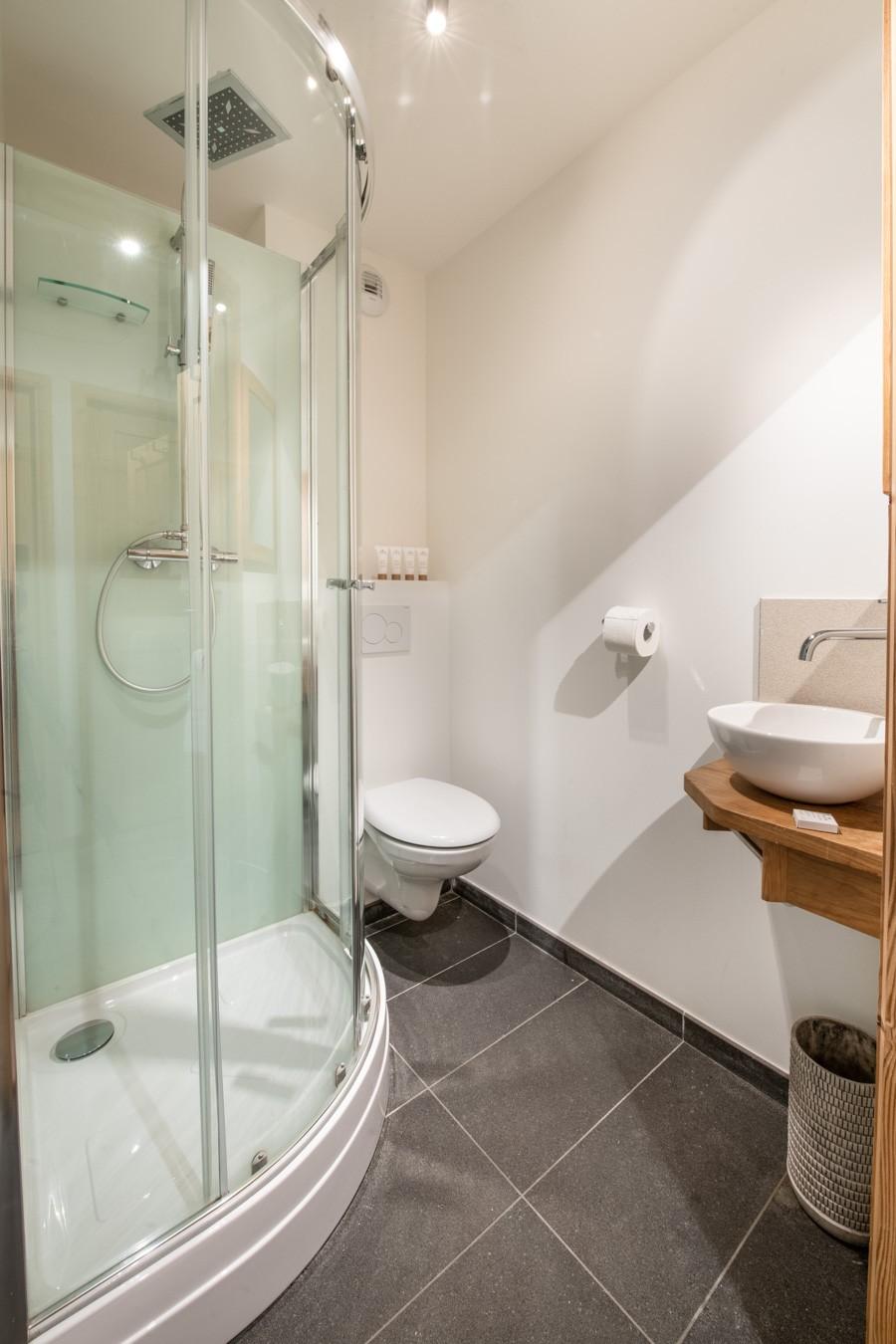 Les Gets Luxury Rental Appartment Anrelle Bathroom