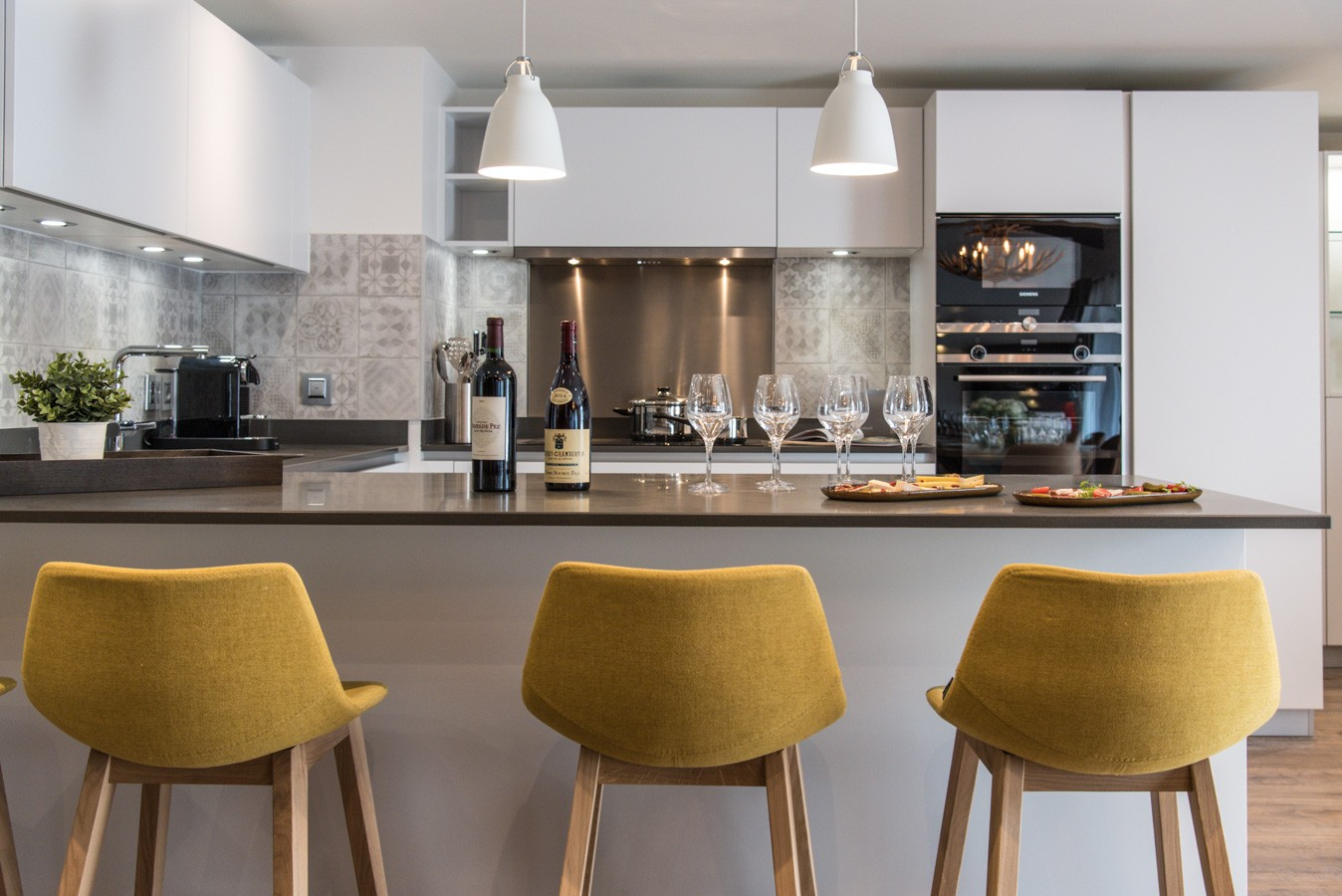 Les Gets Location Appartement Luxe Anrocha Cuisine