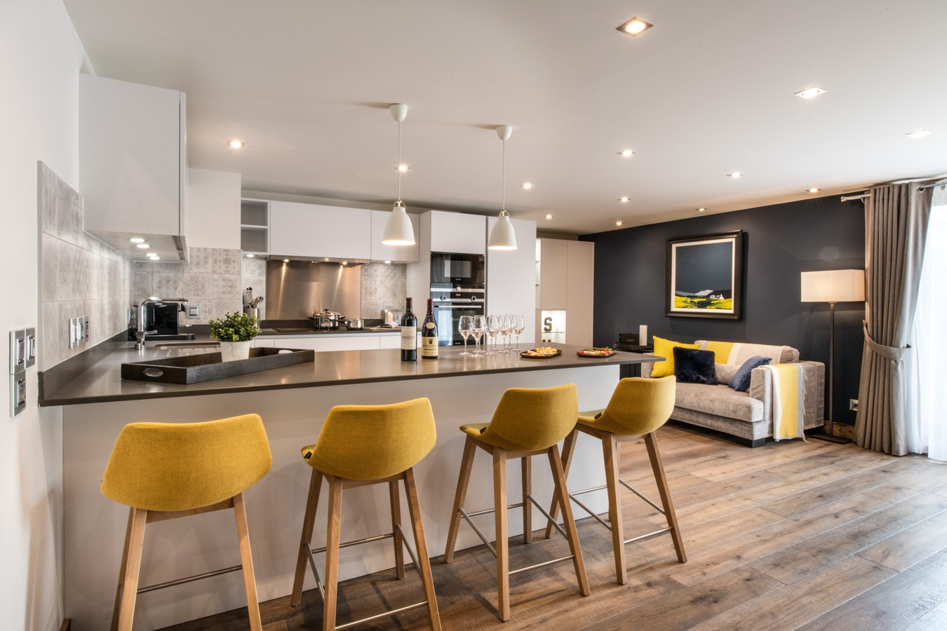 Les Gets Location Appartement Luxe Anrocha Cuisine 3
