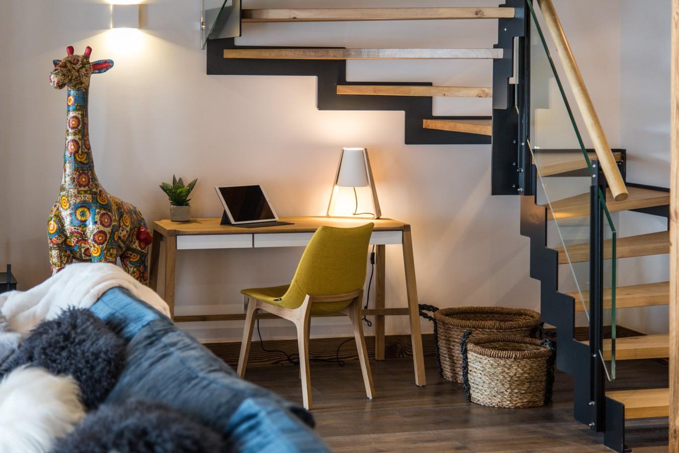 Les Gets Location Appartement Luxe Anrocha Séjour 2