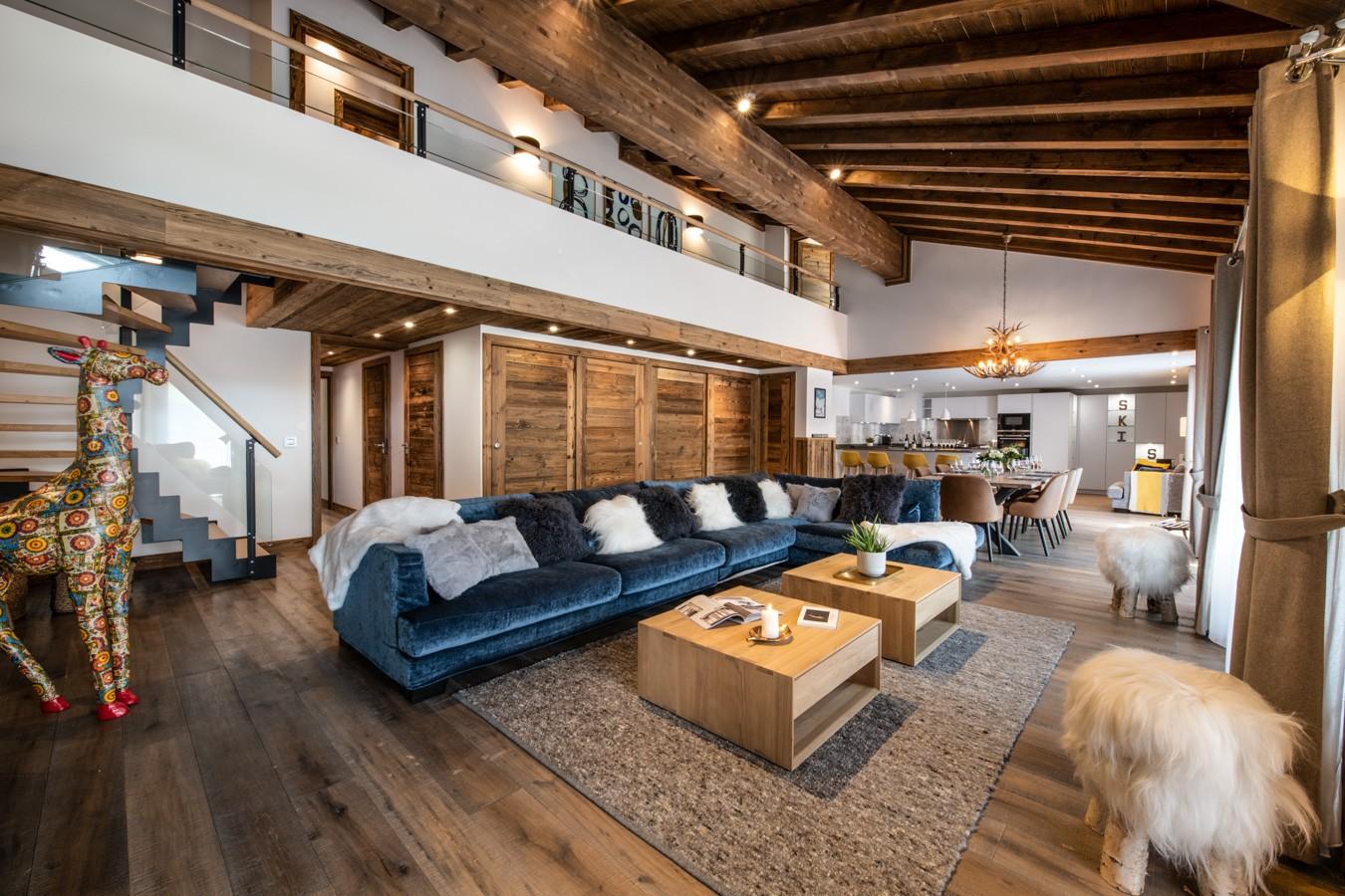 Les Gets Location Appartement Luxe Anrocha Séjour 4