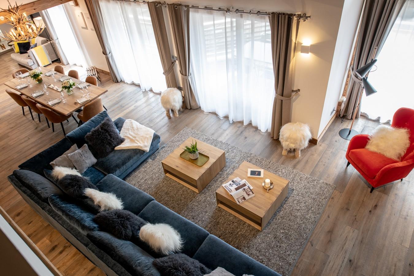 Les Gets Location Appartement Luxe Anrocha Séjour 5