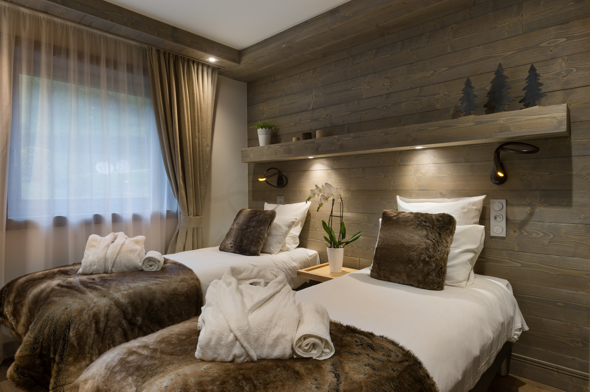 Les Gets Location Appartement Luxe Anroche Chambre 2