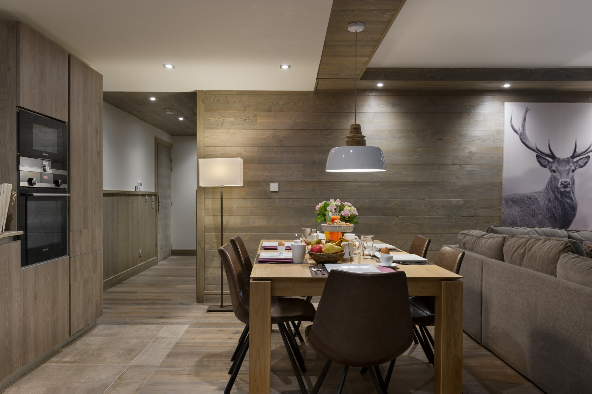 Les Gets Location Appartement Luxe Anroche Salle A Manger
