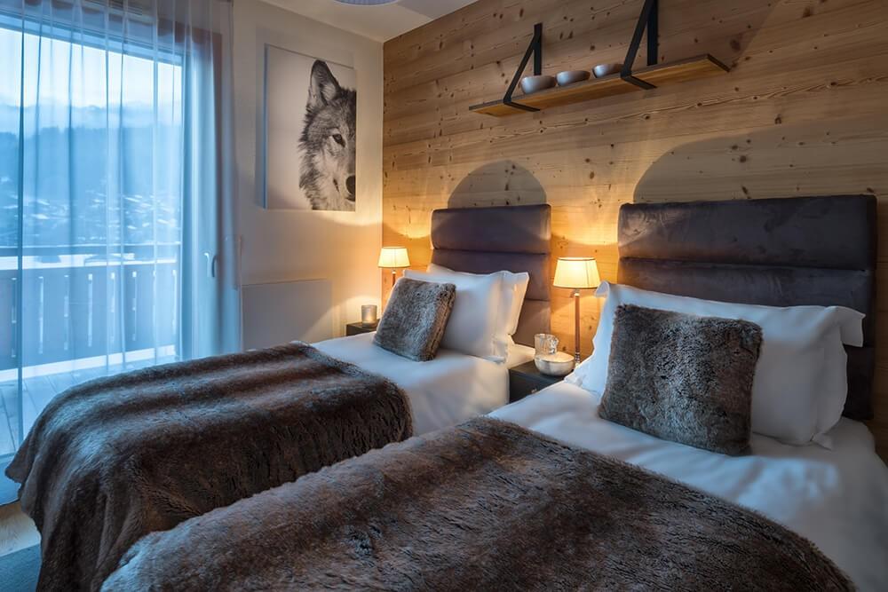 Les Gets Luxury Rental Appartment Dariana Bedroom 1