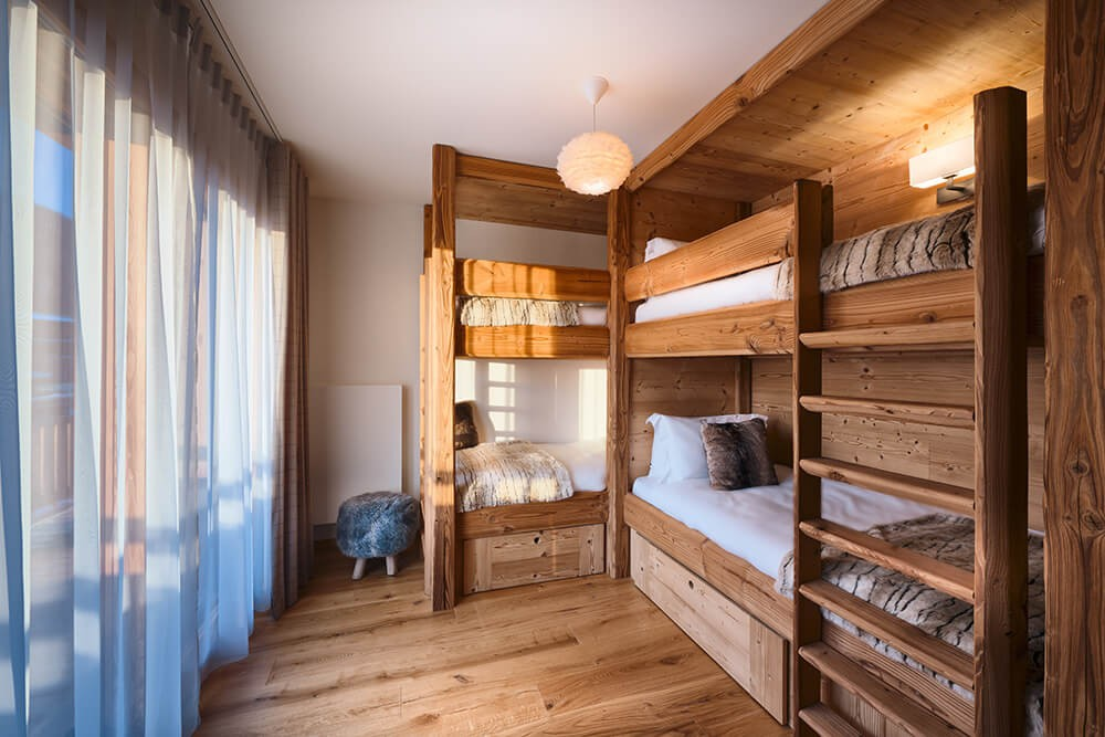 Les Gets Luxury Rental Appartment Dariana Child Bedroom