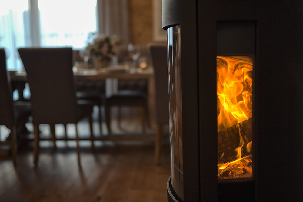 Les Gets Luxury Rental Appartment Dariana Fire Place