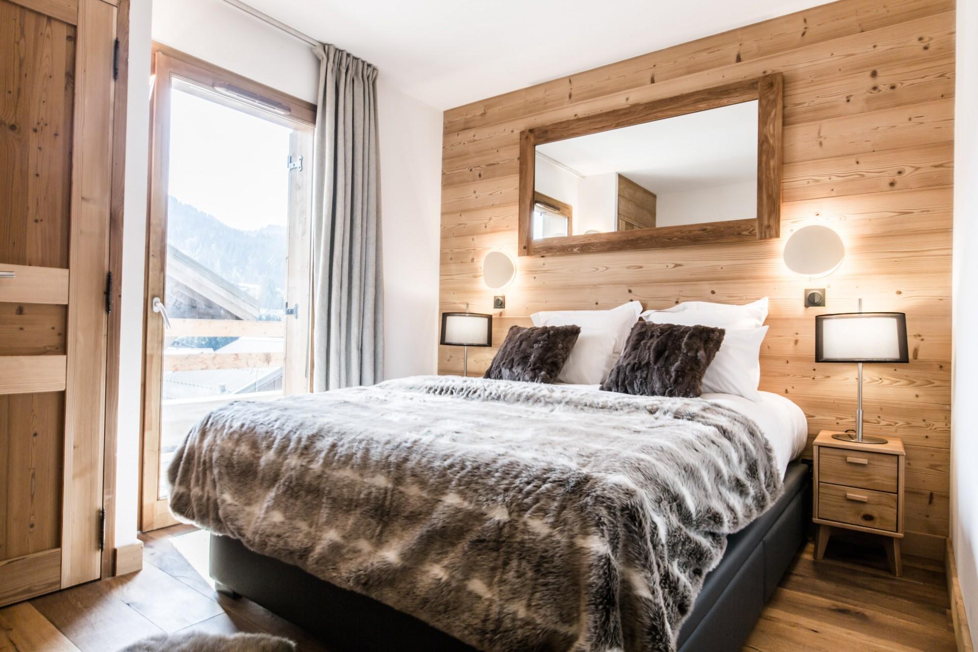 Les Gets Luxury Rental Chalet Ancalie Bedroom