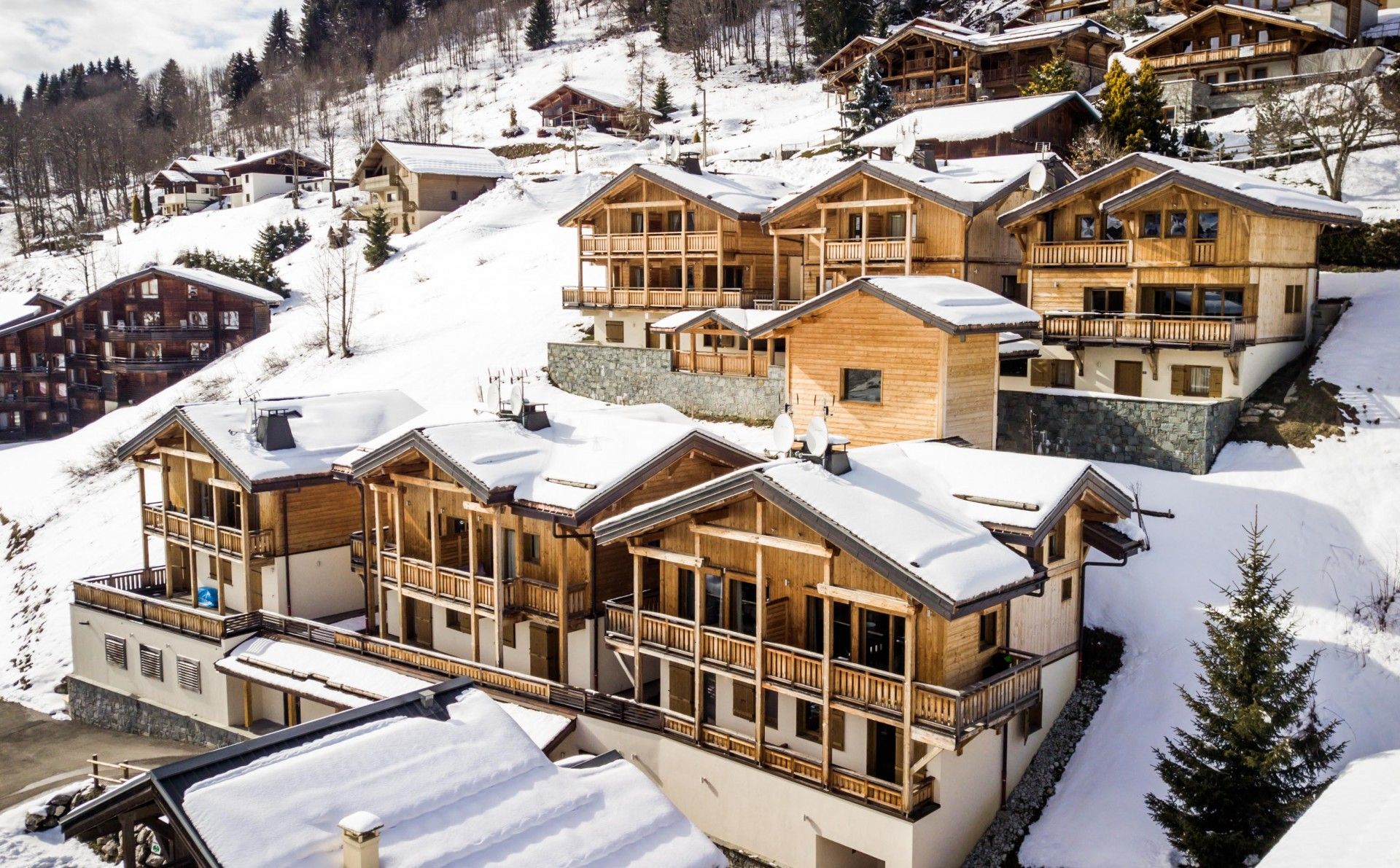 Les Gets Luxury Rental Chalet Ancalie Exterior