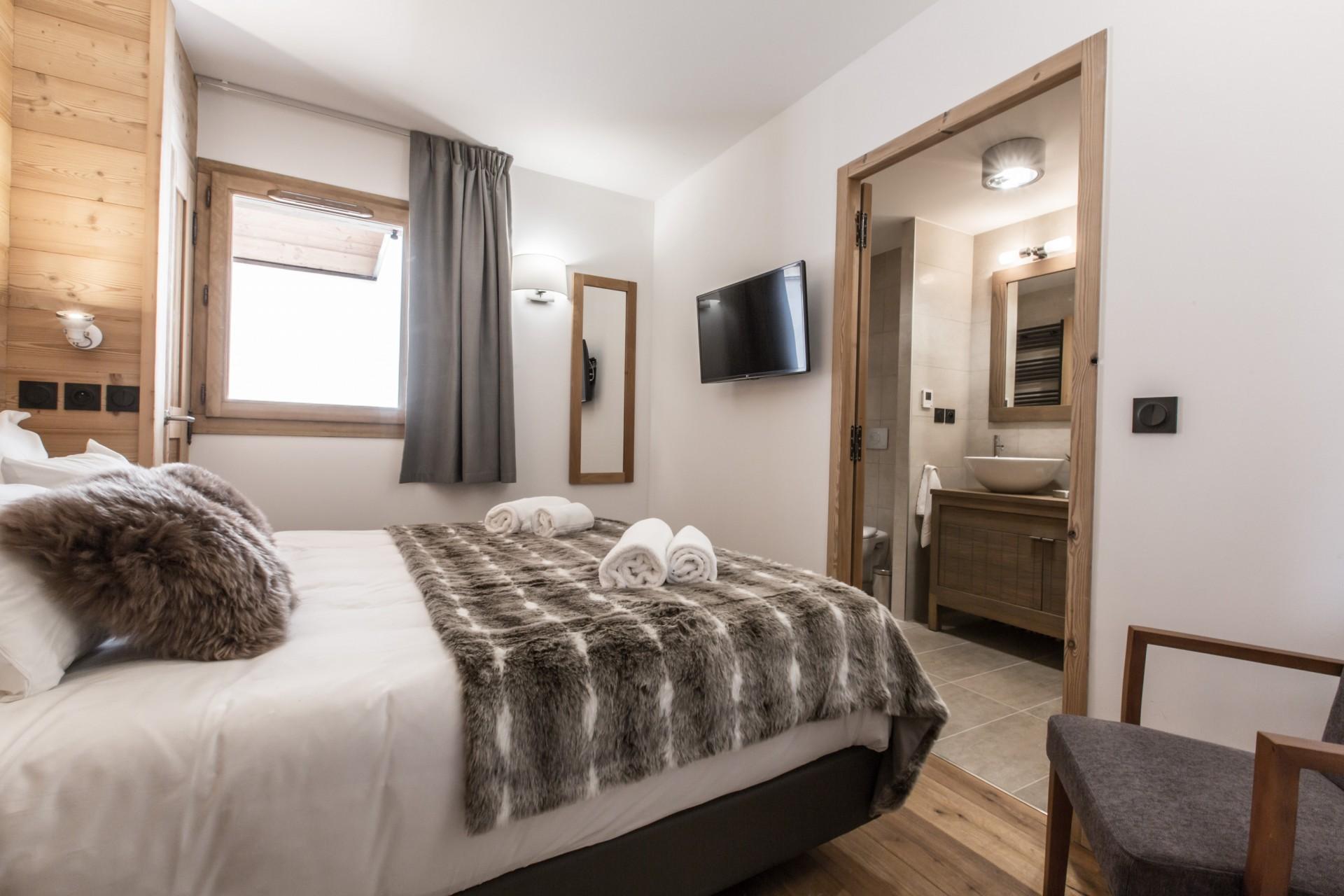 Les Gets Location Chalet Luxe Ancelie Chambre