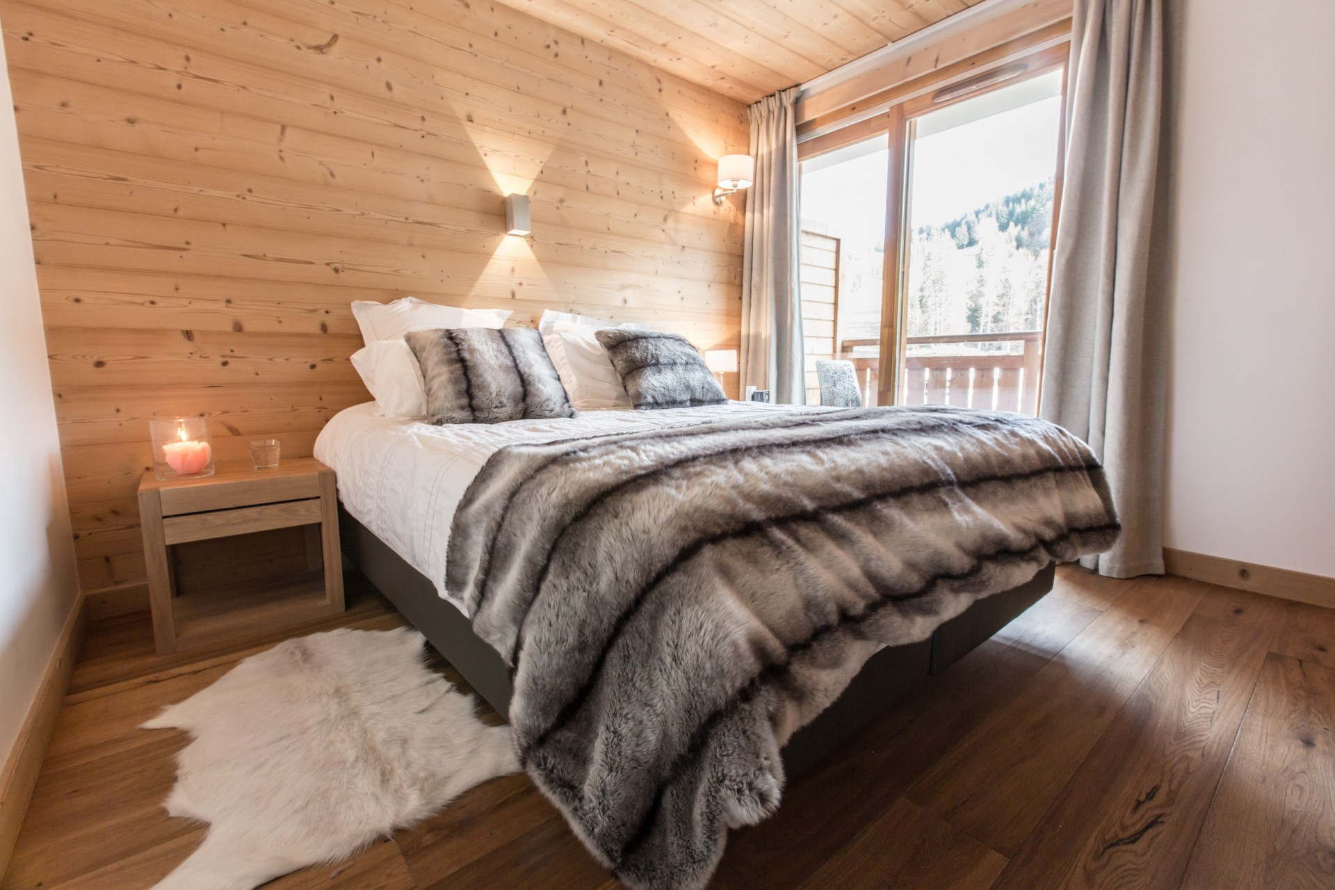 Les Gets Location Chalet Luxe Anrulle Chambre 2