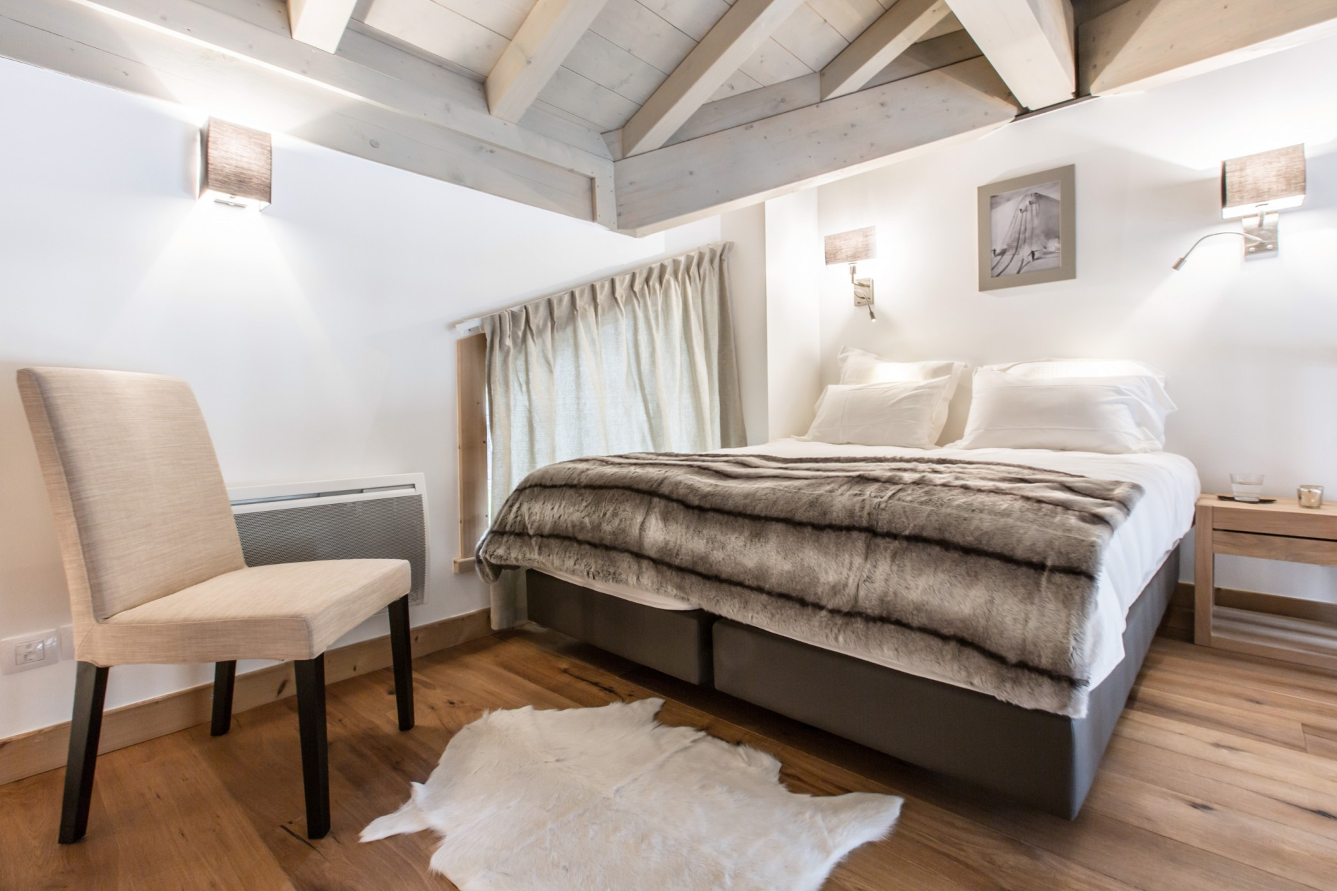 Les Gets Location Chalet Luxe Anrulle Chambre
