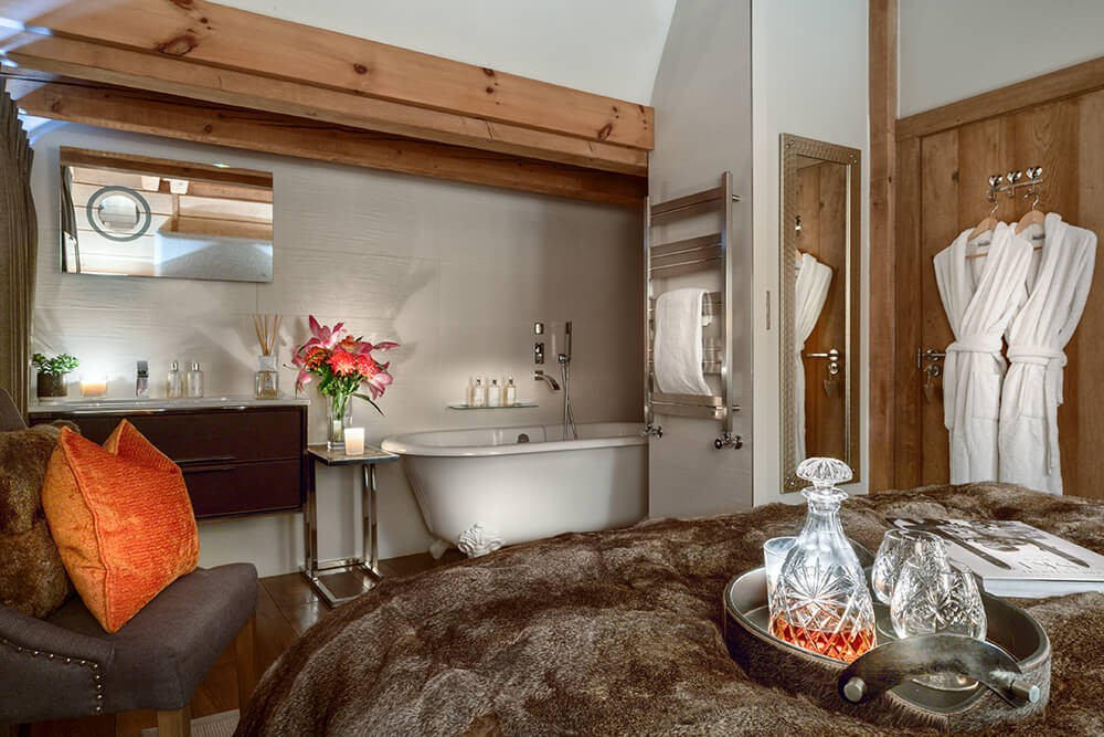 Les Gets Luxury Rental Chalet Gedrite Bedroom 3
