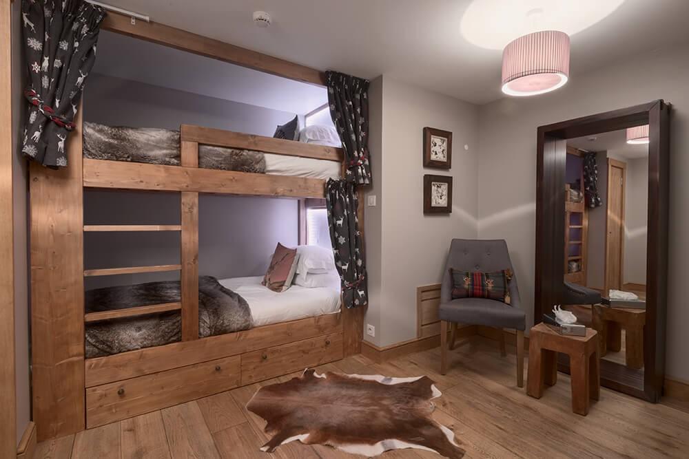 Les Gets Luxury Rental Chalet Gedrite Bedroom 5