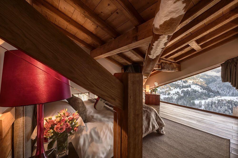 Les Gets Luxury Rental Chalet Gedrite Bedroom 6