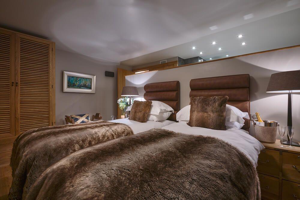 Les Gets Luxury Rental Chalet Gedrite Bedroom 7
