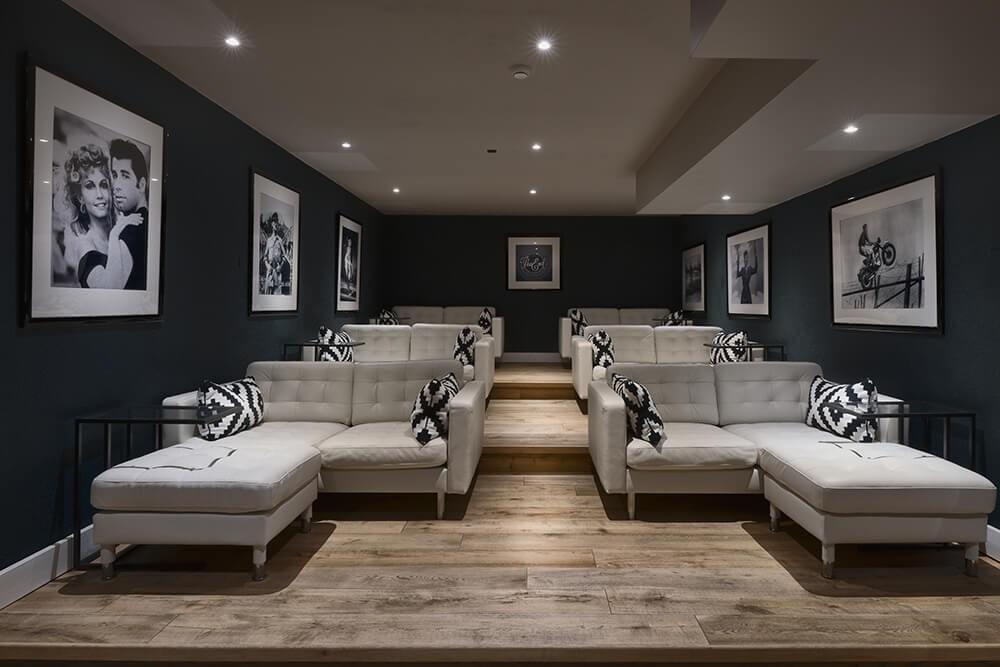 Les Gets Luxury Rental Chalet Gedrite Cinema Room