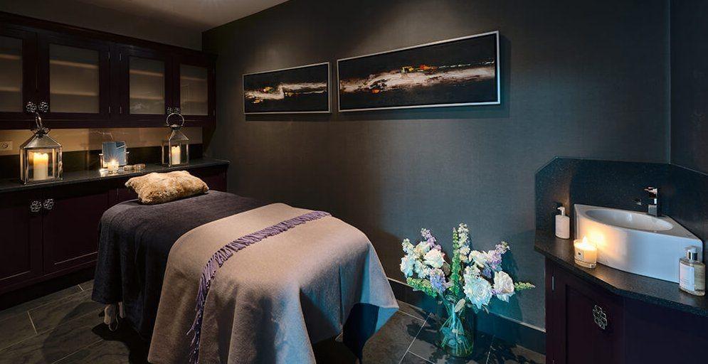 Les Gets Luxury Rental Chalet Gedrite Massage Room