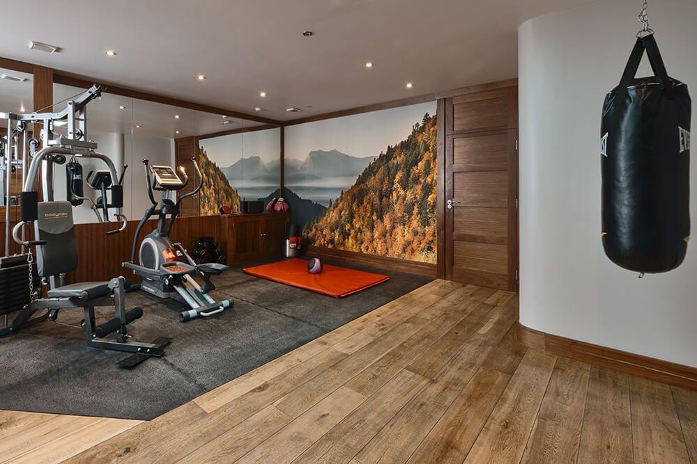 Les Gets Luxury Rental Chalet Gedrite Fitness Room