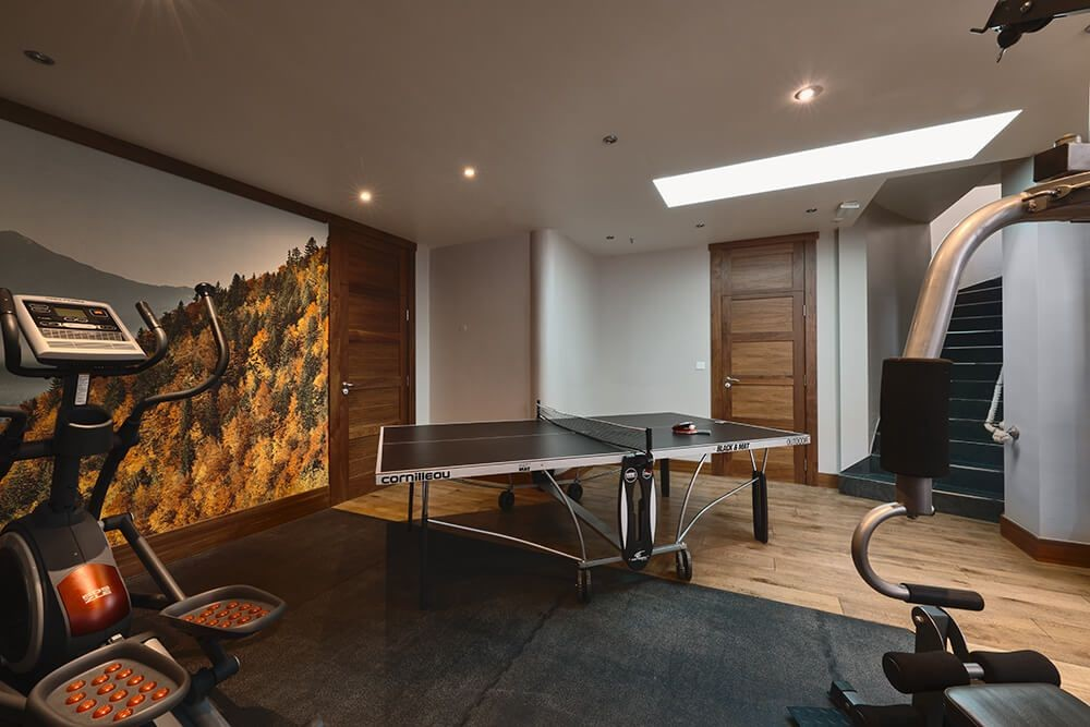 Les Gets Luxury Rental Chalet Gedrite Ping Pong Table