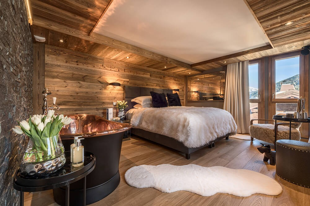 Les Gets Location Chalet Luxe Gedrute Chambre 2